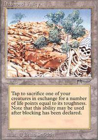 Diamond Valley Magic Card