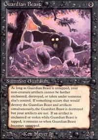 Guardian Beast Magic Card