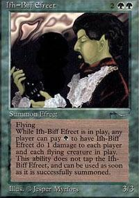 Ifh-Biff Efreet Magic Card