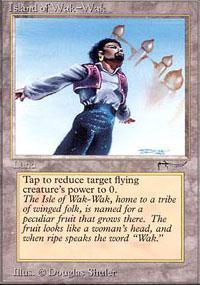 Island of Wak-Wak Magic Card