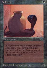 Nafs Asp Magic Card