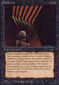 Oubliette Magic Card