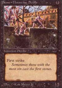 Stone-Throwing Devils Magic Card