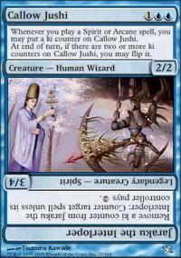 Callow Jushi Magic Card