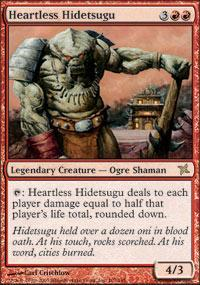 Heartless Hidetsugu Magic Card