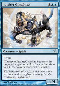 Jetting Glasskite Magic Card
