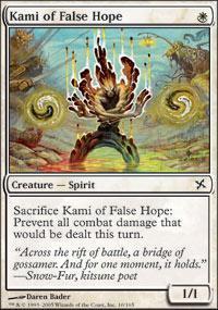 Kami of False Hope Magic Card