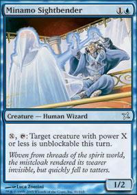 Minamo Sightbender Magic Card