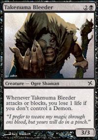 Takenuma Bleeder Magic Card