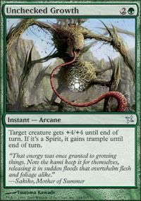 Unchecked Growth Magic Card
