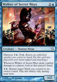 Walker of Secret Ways Magic Card