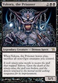 Yukora, the Prisoner Magic Card