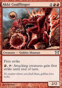 Akki Coalflinger Magic Card
