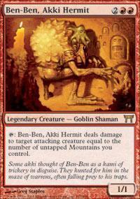 Ben-Ben, Akki Hermit Magic Card