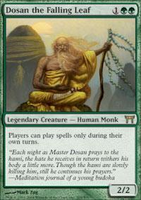 Dosan the Falling Leaf Magic Card
