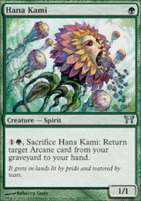 Hana Kami Magic Card