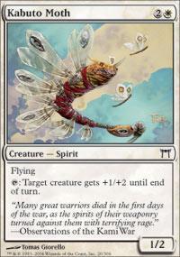 Kabuto Moth Magic Card