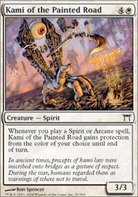 Kami of the Painted Road Magic Card