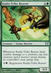 Kashi-Tribe Reaver Magic Card