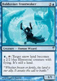 Balduvian Frostwaker Magic Card