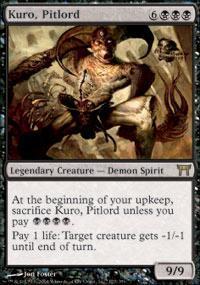 Kuro, Pitlord Magic Card