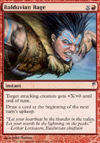 Balduvian Rage Magic Card