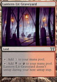 Lantern-Lit Graveyard Magic Card