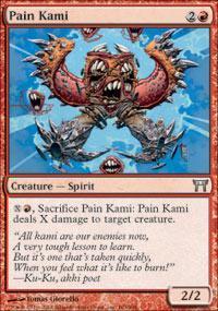 Pain Kami Magic Card