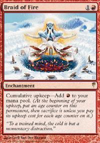 Braid of Fire Magic Card