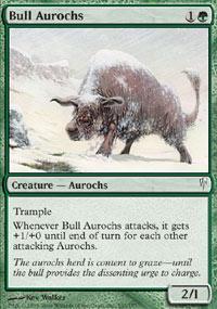 Bull Aurochs Magic Card
