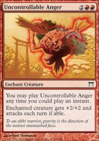 Uncontrollable Anger Magic Card