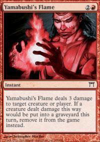 Yamabushi's Flame Magic Card
