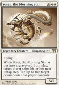 Yosei, the Morning Star Magic Card