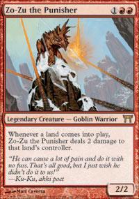 Zo-Zu the Punisher Magic Card