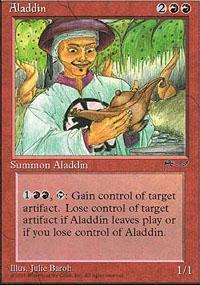 Aladdin Magic Card