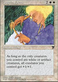 Angelic Voices Magic Card
