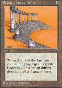 Arena of the Ancients Magic Card