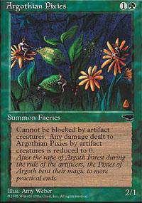 Argothian Pixies Magic Card