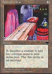 Ashnod's Altar Magic Card