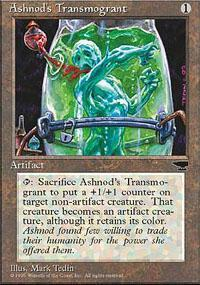 Ashnod's Transmogrant Magic Card