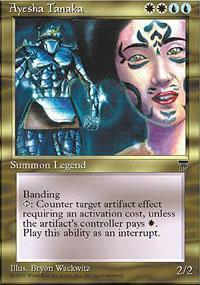 Ayesha Tanaka Magic Card