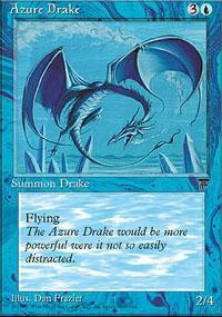 Azure Drake Magic Card