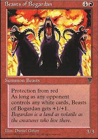 Beasts of Bogardan Magic Card