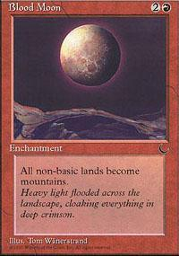 Blood Moon Magic Card