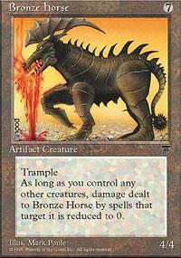Bronze Horse Magic Card