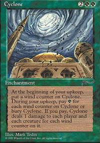 Cyclone Magic Card