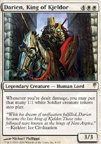 Darien, King of Kjeldor Magic Card