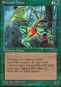 Erhnam Djinn Magic Card