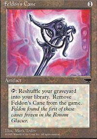 Feldon's Cane Magic Card