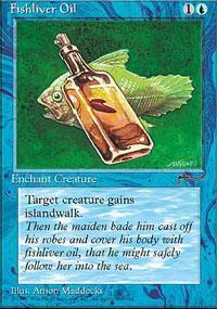 Fishliver Oil Magic Card